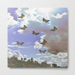 Angelic pastel sky clouds Metal Print