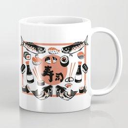Sushi And Soy Sauce Coffee Mug