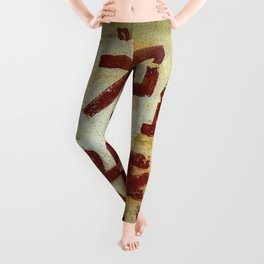 Chinese writing on the wall Leggings