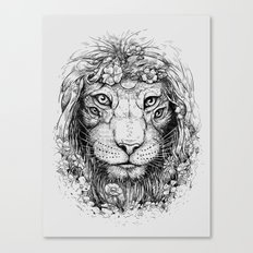 King of Nature Canvas Print