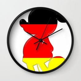 German Mickey Maus Wall Clock