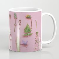 cassia beck Mugs featuring Wild Flowers by Cassia Beck