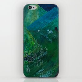 Nisja: the night train 5 iPhone Skin