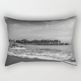 I Touch The Waves Rectangular Pillow