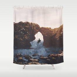 PLAYGROUND UNIVERSE Shower Curtain