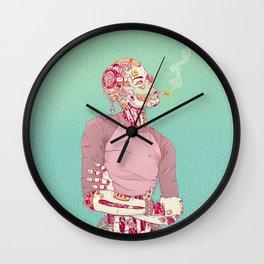 Nostalgic Lady Wall Clock