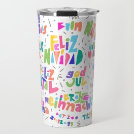 merry christmas Travel Mug