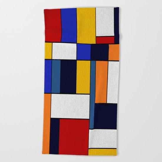Abstract #351 Beach Towel