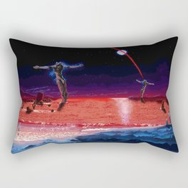 End of Pixelgelion Rectangular Pillow