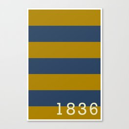 Stripes of Blue and Gold - Emory & Henry College  Canvas Print
