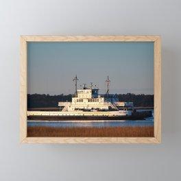Ferry Ride Home Framed Mini Art Print