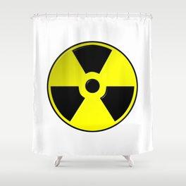 Nuclear Symbol Shower Curtain