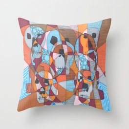 Don't lose your instincts Throw Pillow