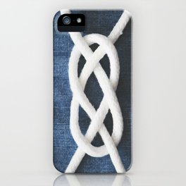 sailor knot iPhone Case