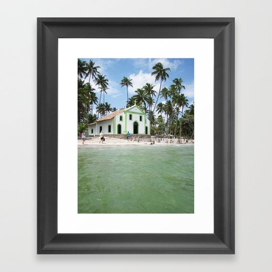 Brazilian landscapes Framed Art Print