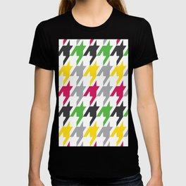 Summer Houndstooth Pattern T-shirt