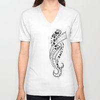 ohana V-neck T-shirts featuring ohana by Ryssa Keola Asuncion