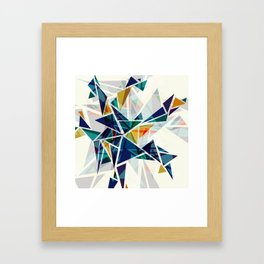 Cracked I Framed Art Print