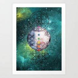Lunar Mysteries Art Print