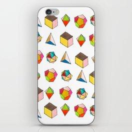 Platonic Solids iPhone Skin