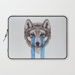 Don't Cry Wolf Laptop Sleeve