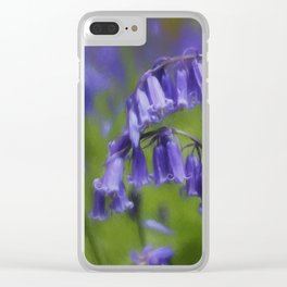 Bluebell Arch Clear iPhone Case