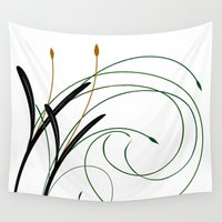 grass Wall Tapestries featuring Grass by DistinctyDesign
