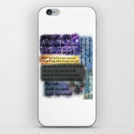 ACOMAF QUOTES iPhone Skin
