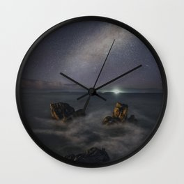 Path On The Sky Wall Clock