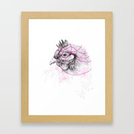 Chicken Framed Art Print
