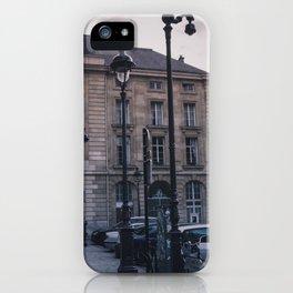 Parisian Lampposts iPhone Case