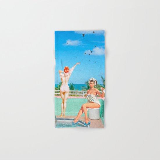 MIAMI BEACH Hand & Bath Towel
