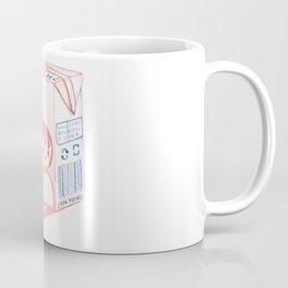 School Lunch Milk Coffee Mug