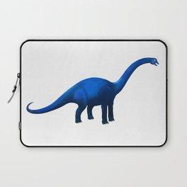 Blue Dinosaur Brachiosaurus or Apatosaurus Laptop Sleeve