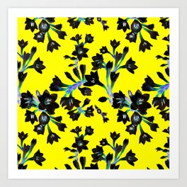 Watsonia Print Art Print