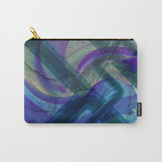 Industrial Landscape Abstract  Carry-All Pouch