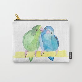 Watercolour Linnie Love Carry-All Pouch