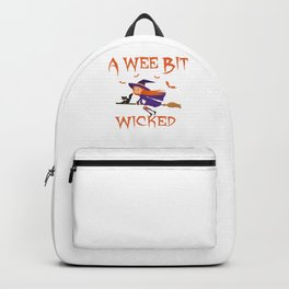 A Wee Bit Wicked Backpack