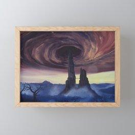 The Vortex - A Borderlands 2 Inspired Oil Painting Framed Mini Art Print
