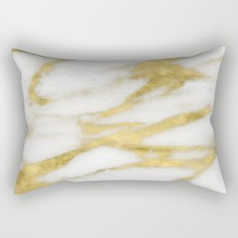 Bari golden marble Rectangular Pillow