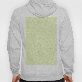 Mint green gray autumn pumpkin floral pattern Hoody