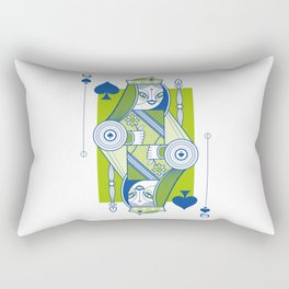 Delirium Queen of Spades Rectangular Pillow