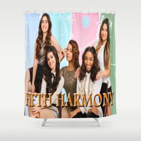 fifth harmony Shower Curtains featuring fifth harmony best design home decoration ideas by customgift