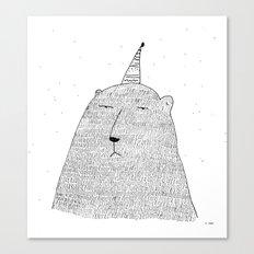 Hallo Spaceboy ! Canvas Print