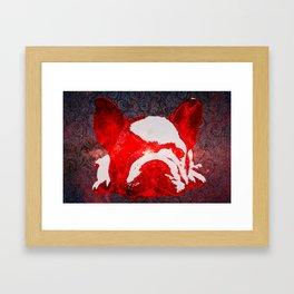 Frenchie's Milky Way Framed Art Print