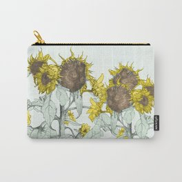 The sunflower brigade Carry-All Pouch