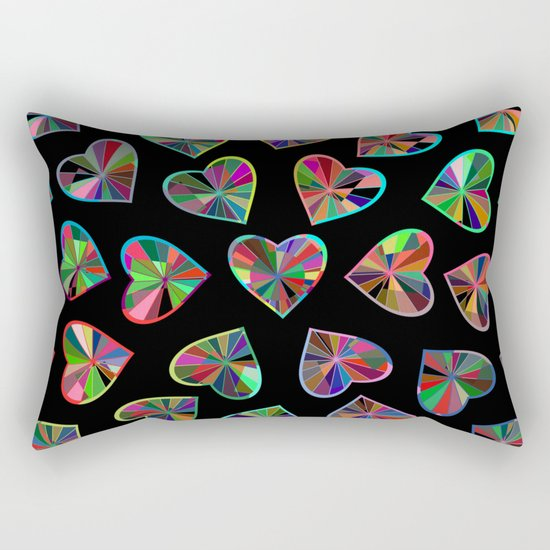 Hearts of glass Rectangular Pillow