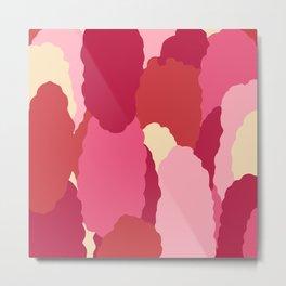 Flower Bulbs: Red Pink Combo Metal Print