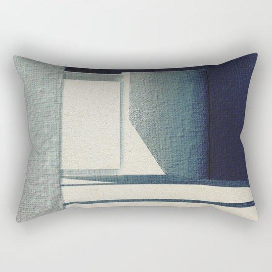 Solo Forma Geometrica Rectangular Pillow