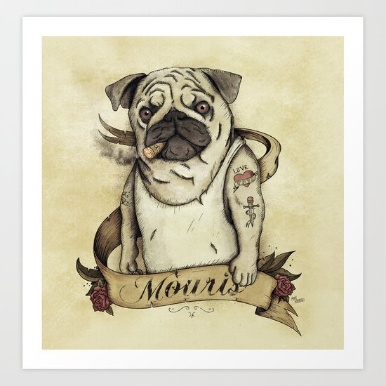 Mouris Art Print